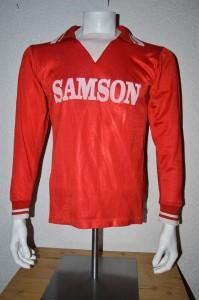 1977 - 1978 Spielertrikot Matchworn SAMSON