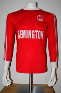 1975 - 1976 Spielertrikot Matchworn Away vorn