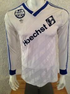 1986 - 1987 Spielertrikot Away Langarm vorn