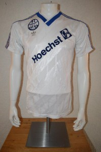 1986 - 1987 Spielertrikot Away kurzarm v