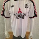 1996 - 1997 Spielertrikot Matchworn Maurizio Gaudino vorn Away