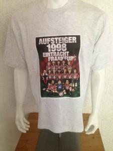 1997 - 1998 Aufstiegs T-Shirt vorn