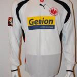 2000 - 2001 Spieletrikot Matchworn Houbtchev Away Langarm vorn