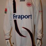 2009 - 2010 Matchworn Spielertrikot Alex Meier Away Langarm