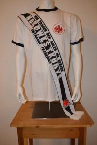 Ultras UF97 Spendenschal Seidenschal  -Wir tragen den Adler im Herzen-