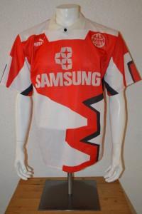 1991 - 1992 - 1993 Spielertrikot Matchworn Ausweichtrikot 3rd