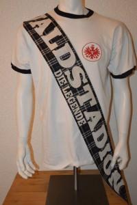 UF97 Ultras Frankfurt Seidenschal Waldstadion - die Legende back
