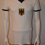 1972 Matchworn Spielertrikot BRD Bernd Nickel 27.08.72 Olympisches Turnier vs. Malaysia