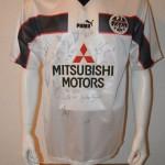 1998 – 1999 Fanshoptrikot Fjörtoft -falsche Werbung- Away