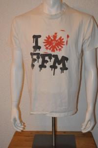 Ultras Frankfurt UF97 Droogs I love FFM T-Shirt