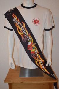Ultras Frankfurt UF97 Seidenschal Entflammte Herzen
