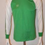 1979 - 1980 Spielertrikot UEFA Pokal Viertelfinale 28.11.79 vs. Feyenoord Rotterdamm