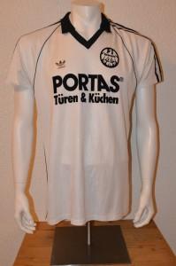 1984-85 Spielertrikot Matchworn Thomas Berthold Away