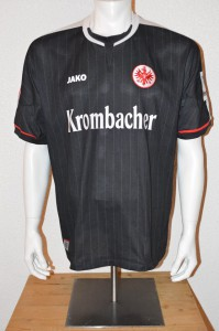 2012 - 2013 Spielertrikot Matchworn Alex Meier 28.04.13 in Mainz