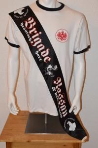 Ultras Frankfurt UF97 Seidenschal Brigade Nassau