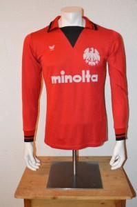 1979 - 1980 Spielertrikot Matchworn Langarm