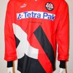 1993 - 1994 Spielertrikot Matchworn Slobodan Komljenovic Langarm