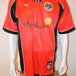 1998 - 1999 Fanshoptrikot Heimtrikot mit schwarzem Werbeflock