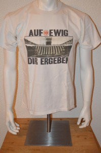 Ultras Frankfurt UF97 T-Shirt Auf ewig dir ergeben