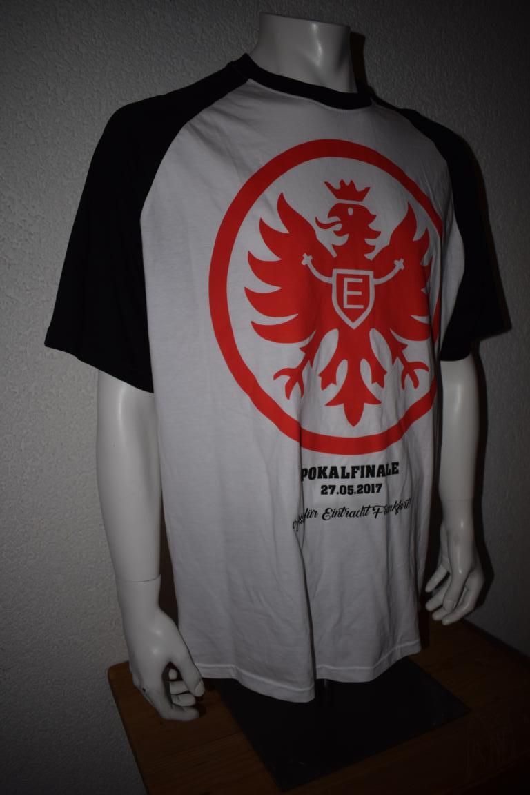 Ultras Frankfurt Uf97 Choreo Shirt Dfb Pokalfinale No Name Kurzarm