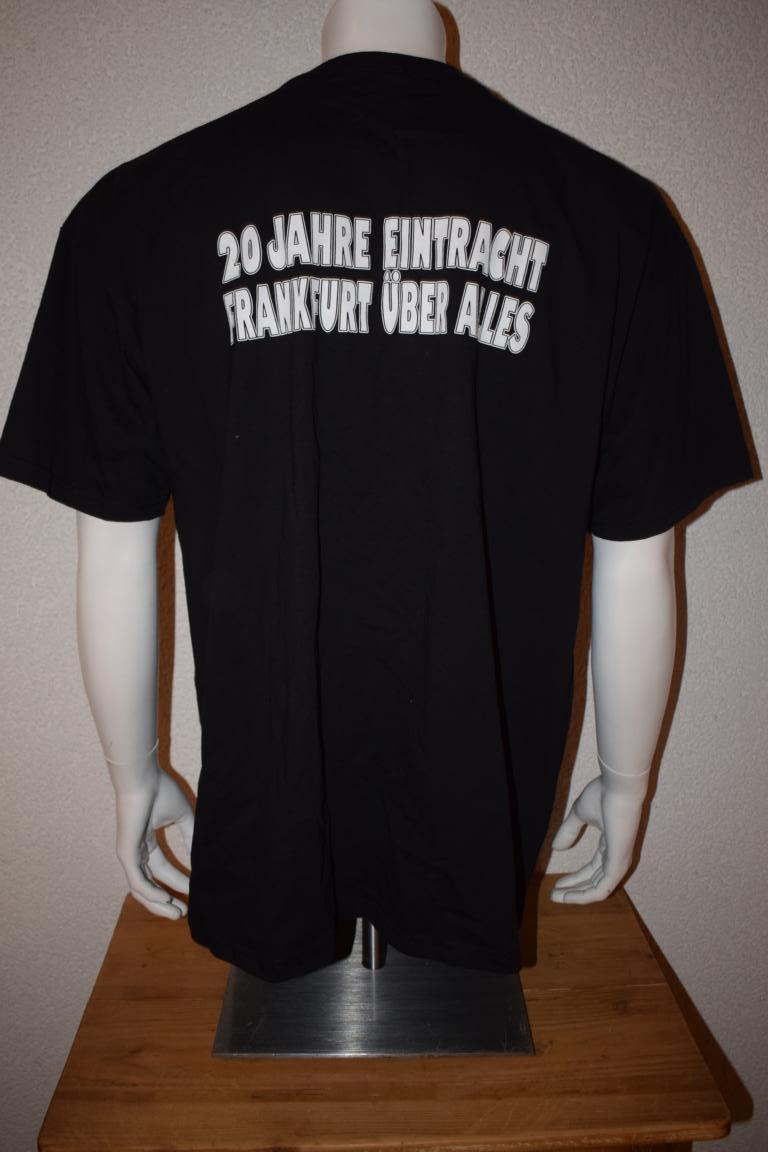 Ultras Frankfurt Uf97 T Shirt 20 Jahre Eintracht Frankfurt über
